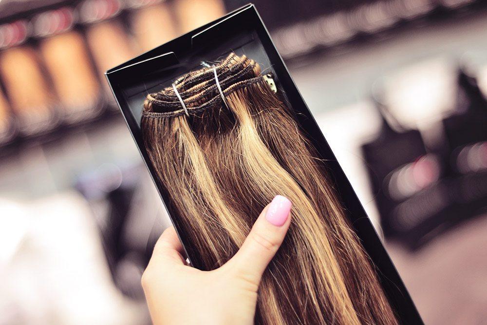 Poze Hair Extension Mocca Caramel