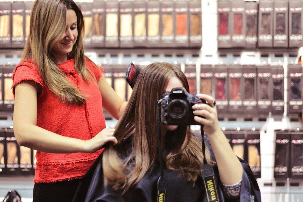 Poze Hair Extensions - Före och Efter