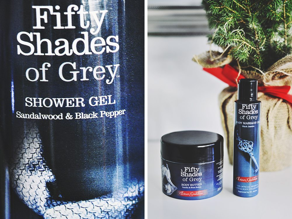 Fifty Shades of Grey – Claudia Cosmetics Bath & Body Collection