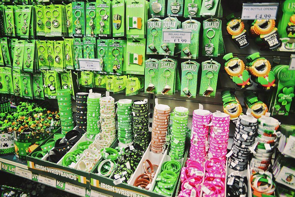 Irländska souvenirer