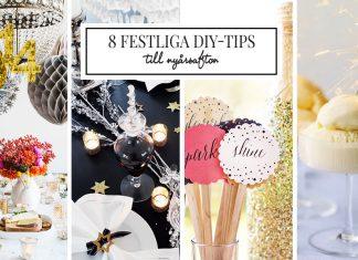 Enkla DIY-tips till Nyår