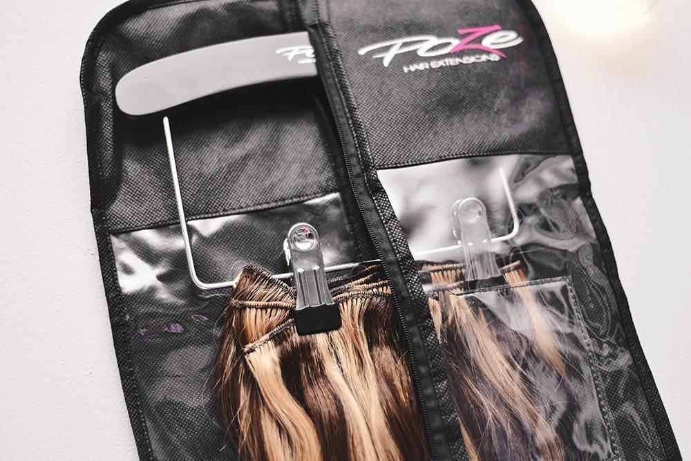 Poze Hair Case - Smart förvaring för löshår