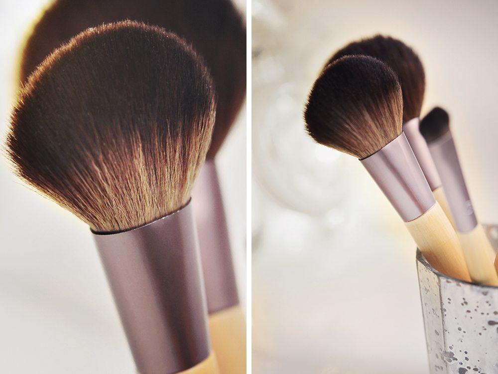 Ekovänliga makeupborstar
