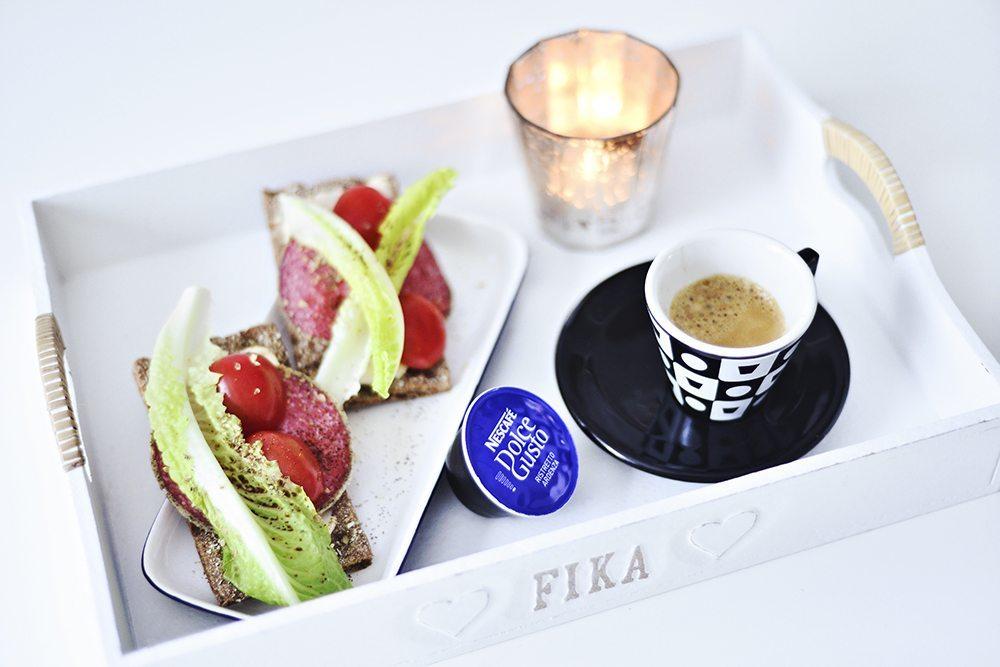 Frukost med espresso