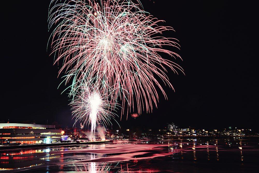 Nyårsfirande i Umeå