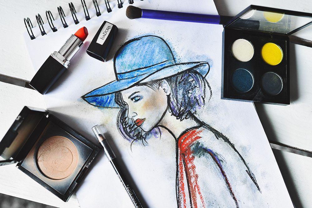 Makeup sketch
