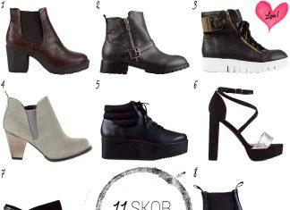 11 skor under 200 kr