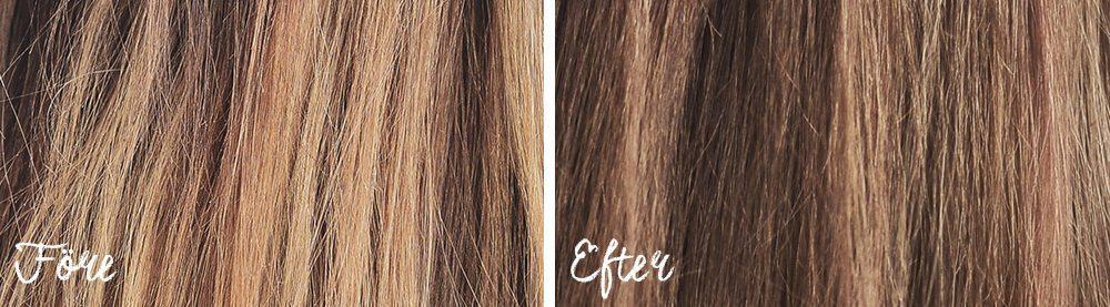 L'Oréal Paris Prodigy 6.0 Light Brown - Före & Efter