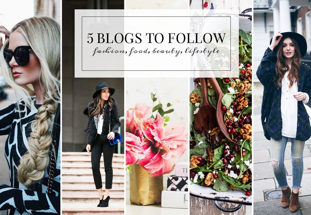 5 Blogs to follow