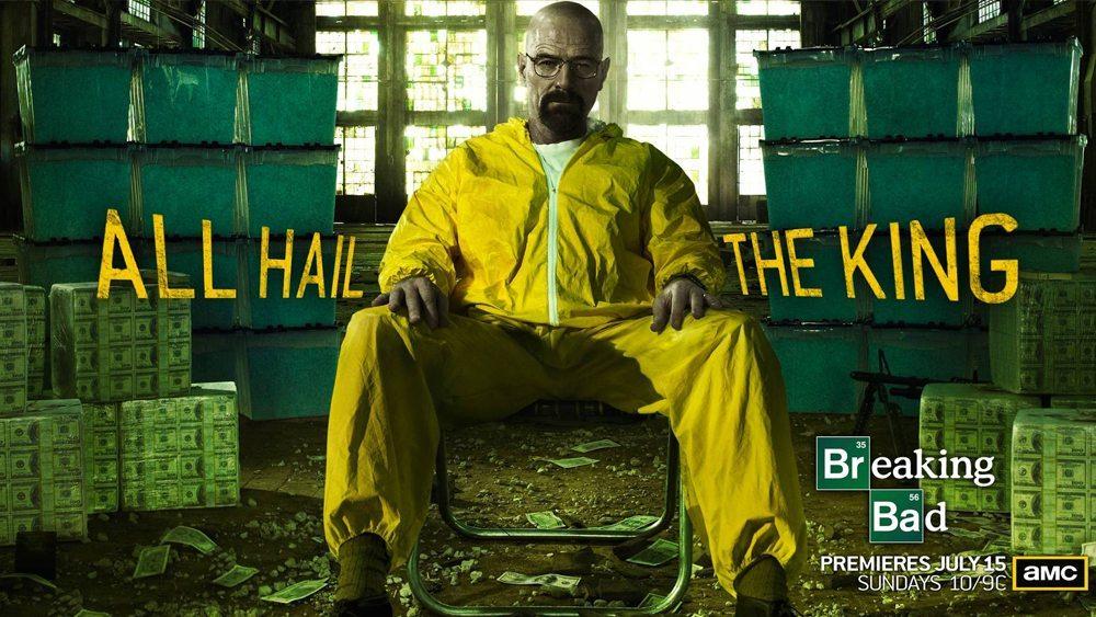 Fängslande tv-serier: Breaking bad