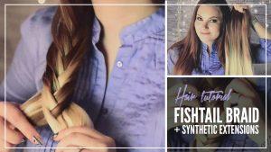 Tutorial: Fiskbensfläta med syntetiskt löshår