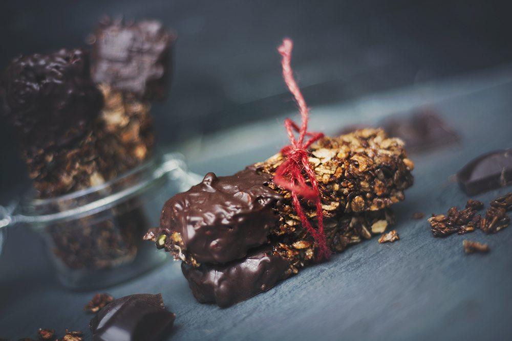 Recept: Granolabars med choklad