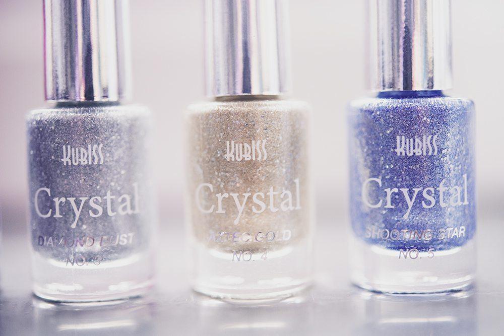 Kubiss Crystal Nail Polish