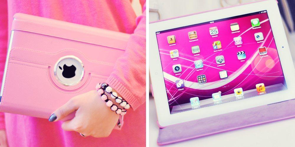 Roterande iPad-fodral