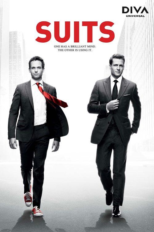 Fängslande tv-serier: Suits