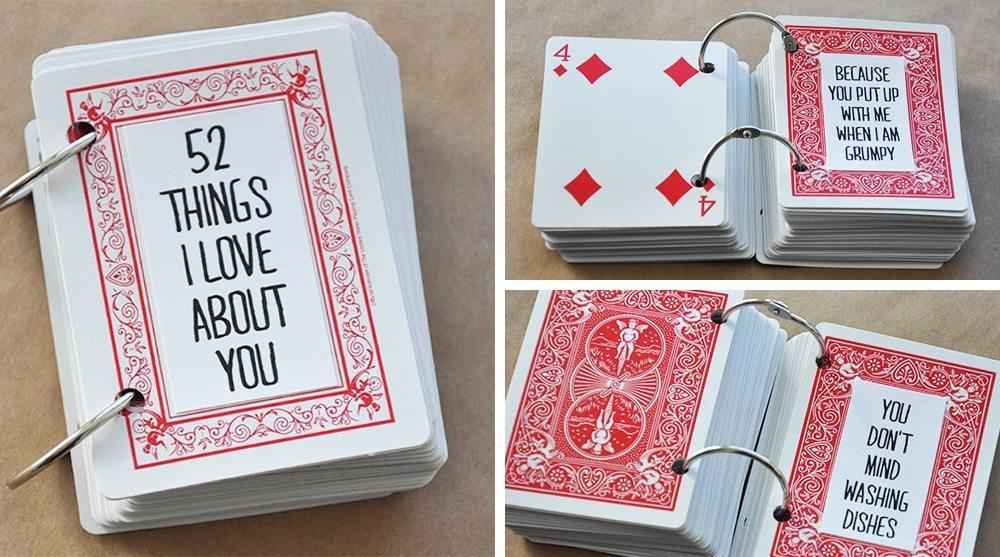 Sista minuten-tipsen inför Alla hjärtans dag: Söt alla hjärtans dag-gåva med kortlek