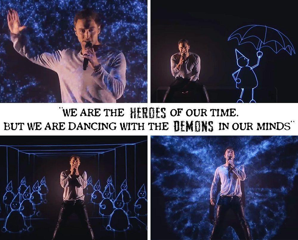 Måns Zelmerlöw – Heroes (Melodifestivalen 2015)