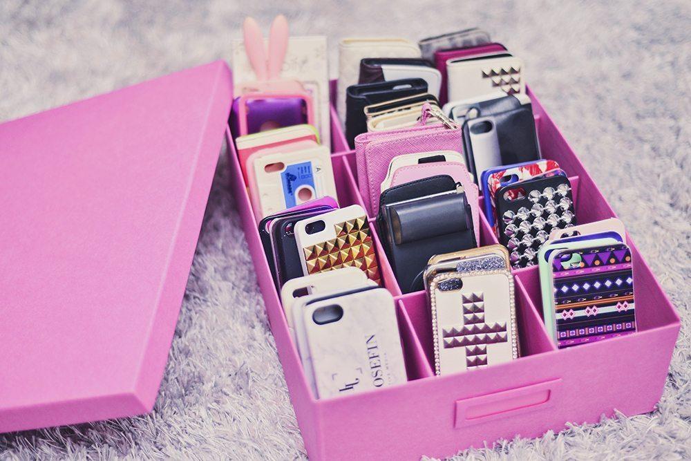 Förvaring till iPhoneskal