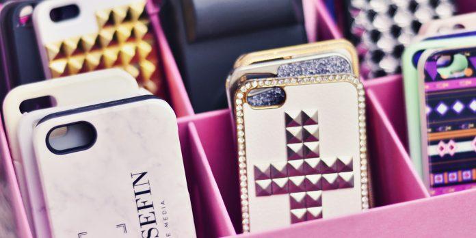 Smart förvaring för mobilskal