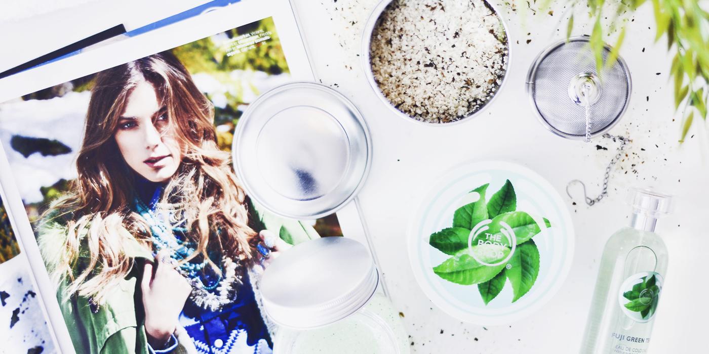 The Body Shop Fuji Green Tea
