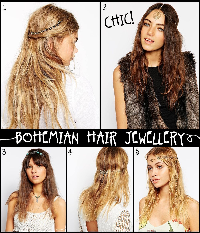 Bohemiska hårsmycken