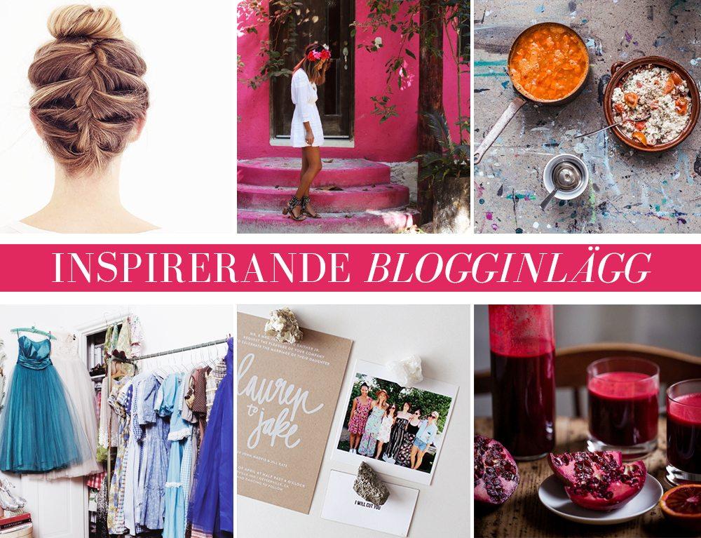 Inspirerande blogginlägg