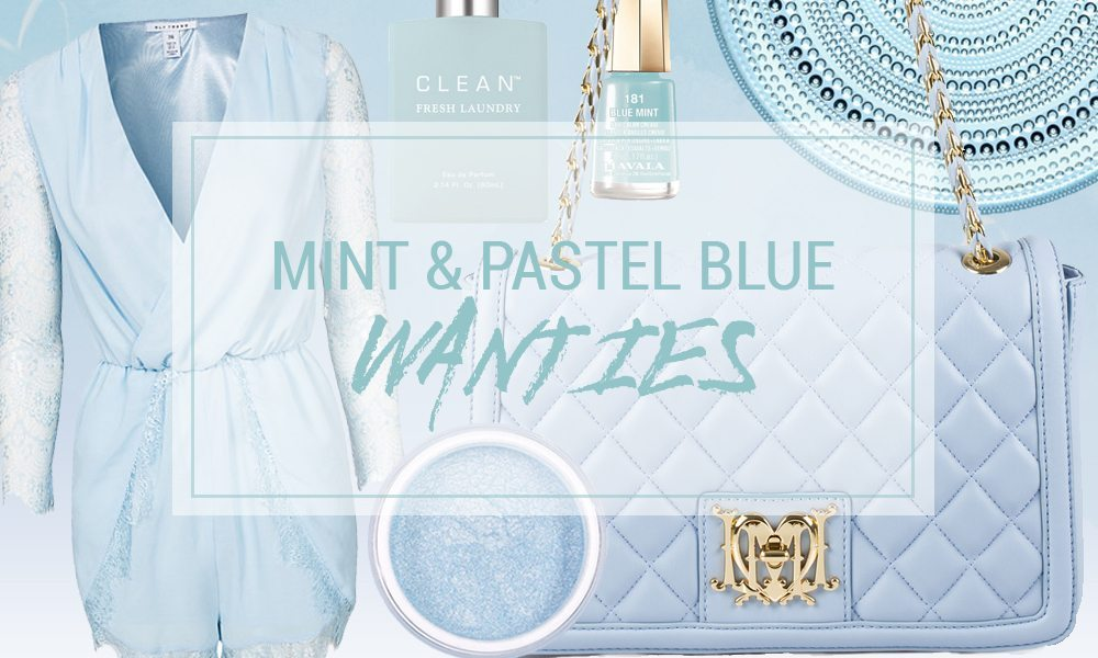 Mint & Pastel Blue Wanties