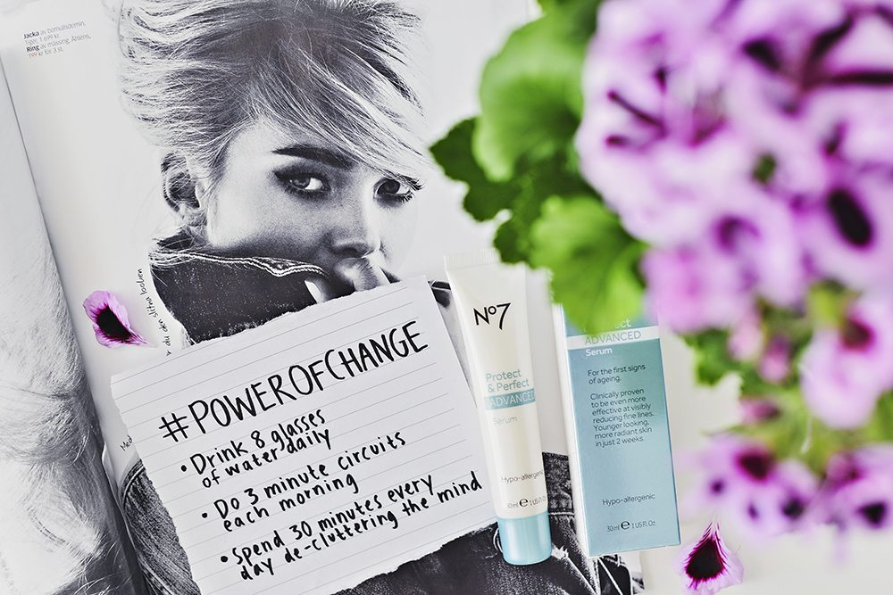 #Powerofchange - Boots No7 Protect & Perfect Advanced Serum
