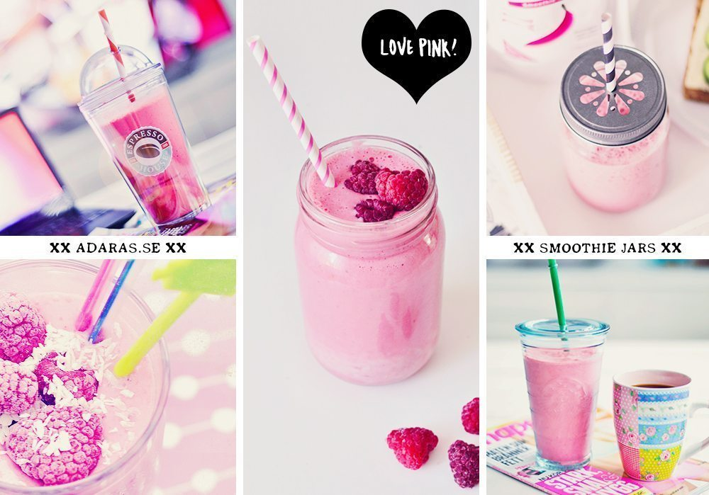 Majson jars & smoothieglas