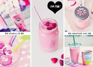 Majson jars & smoothieglas