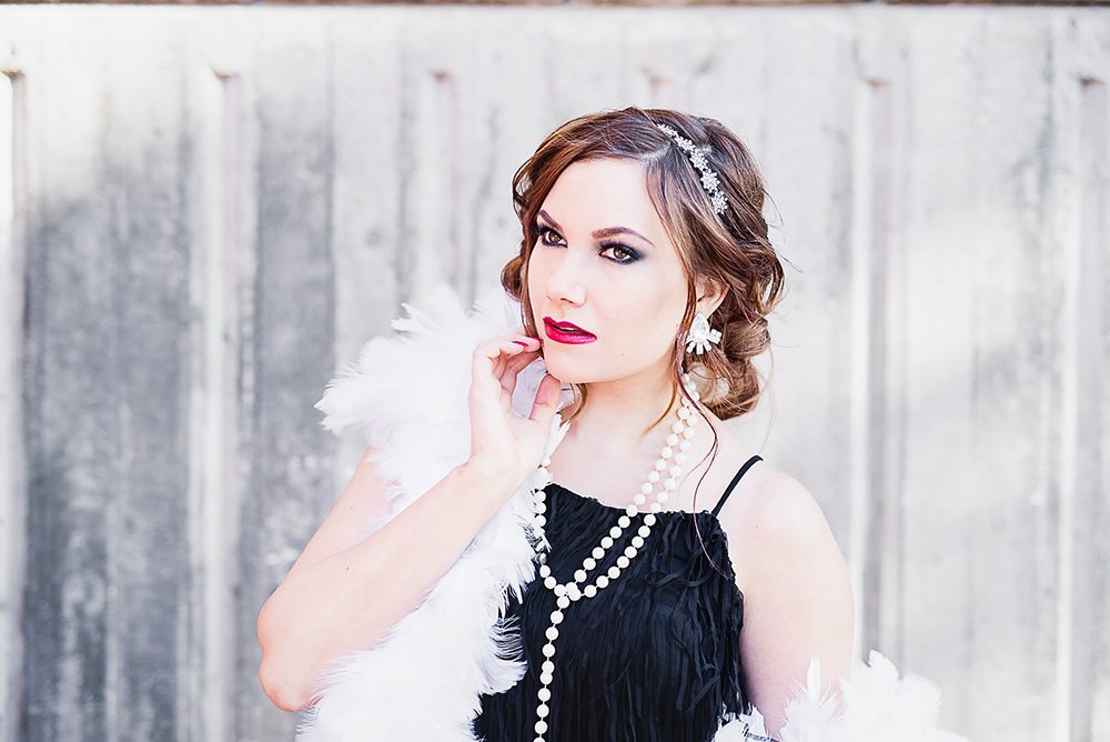 20s style photoshoot - Dots & Frog Photography