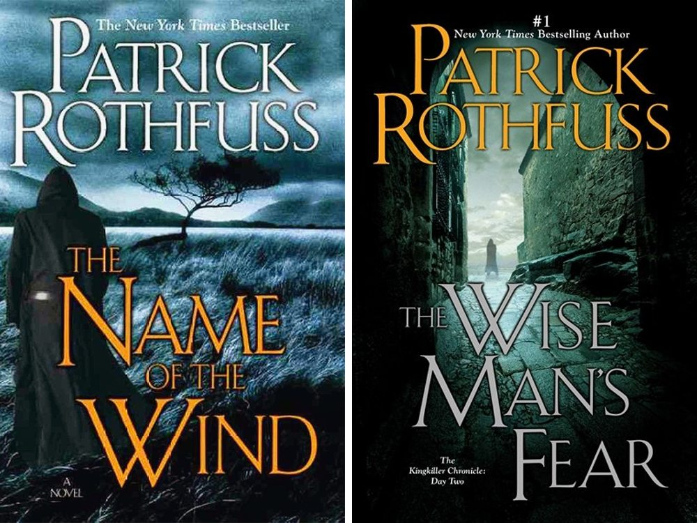The KingKiller Chronicle: The Name of The Wind & The Wise Man's Fear by Patrick Rothfuss