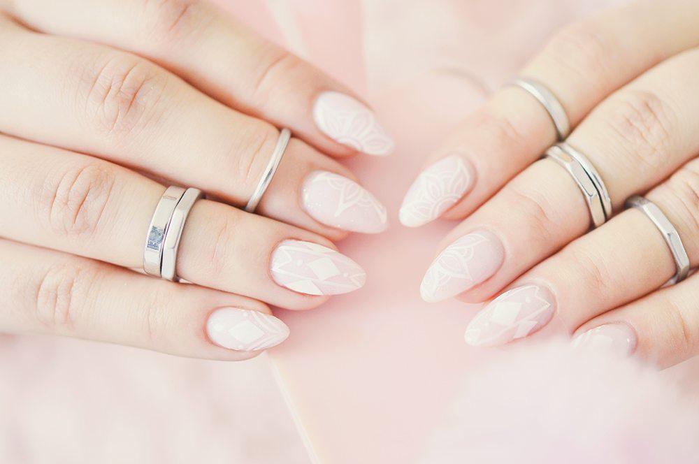 Baby Blush Gel Nails