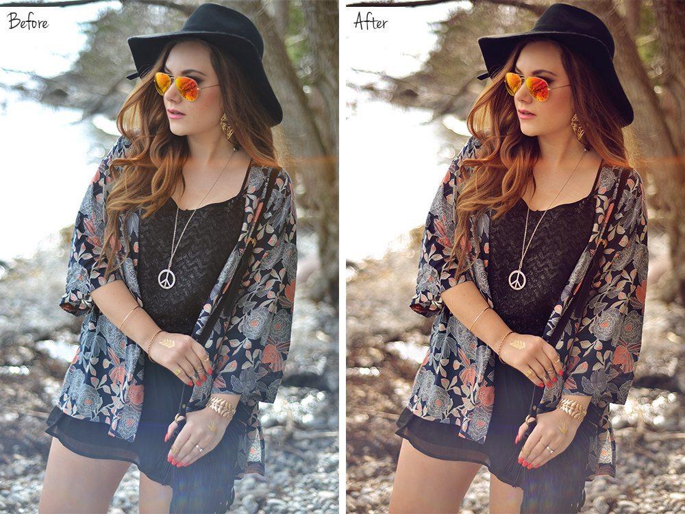 Bildredigering: Före och efter Photoshop