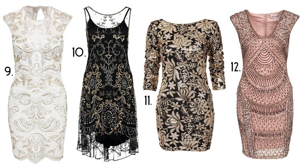 gatsby inspirerade klänningar