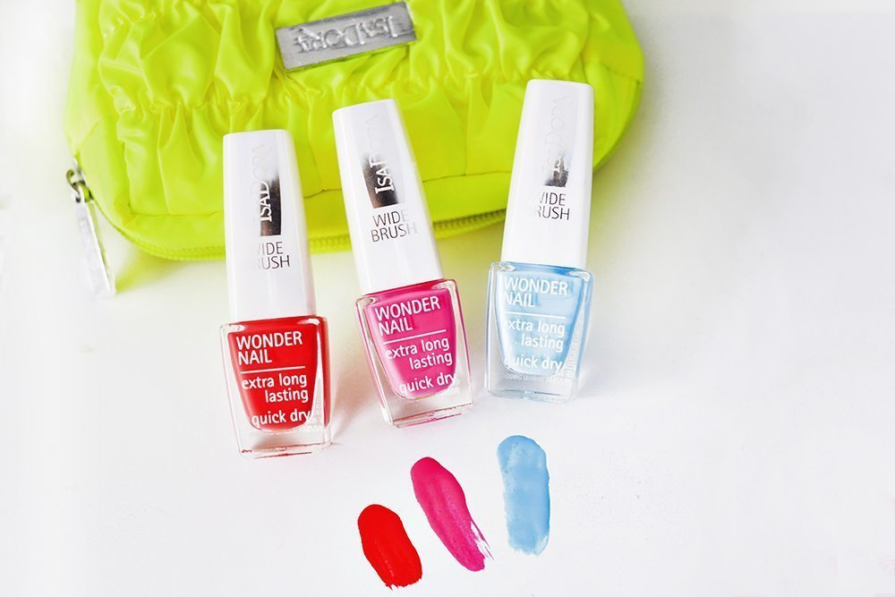 IsaDora Colors in Action Summer Nails 2015