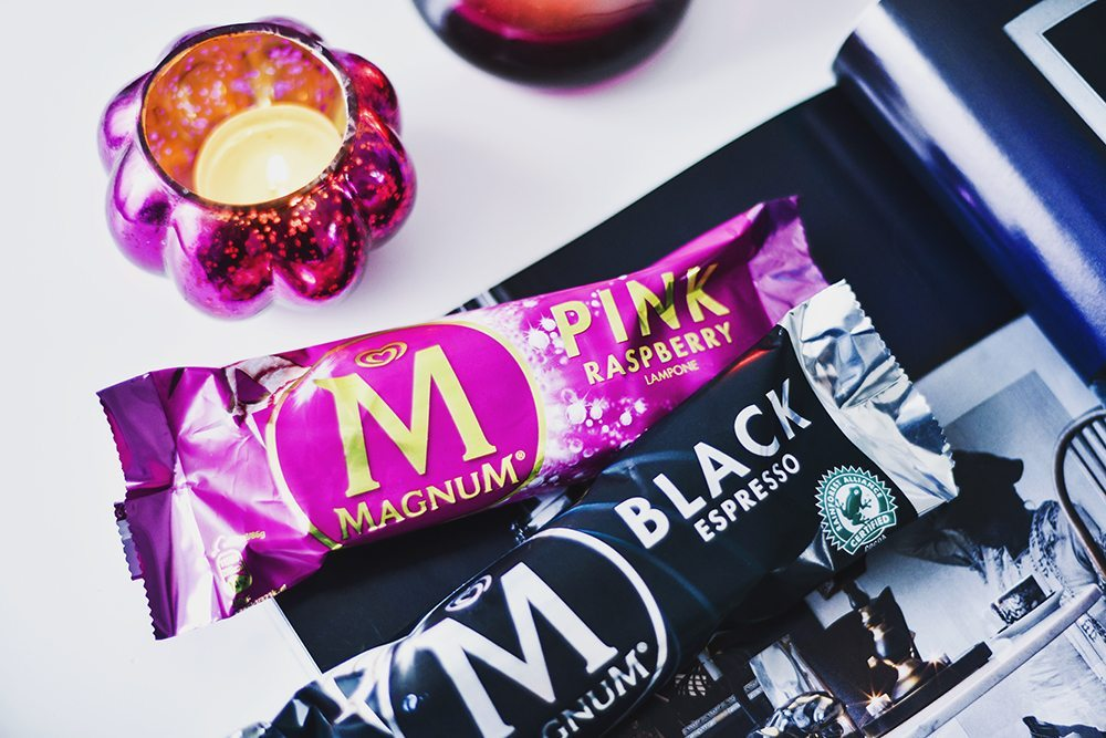Magnum Pink Raspberry & Black Espresso