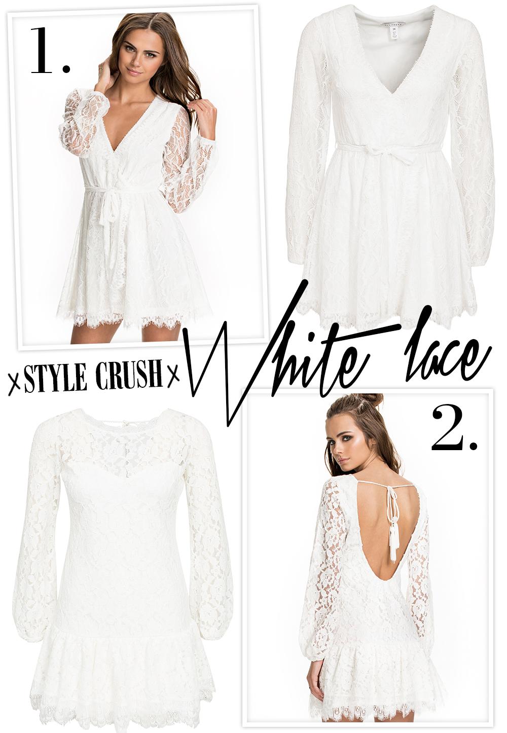 Style crush: White Lace Dress