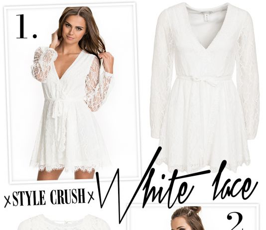 Style crush: White Lace Dress