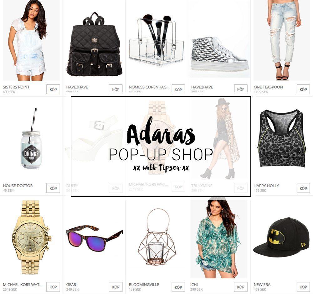 Adaras Pop-Up Shop