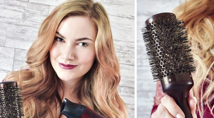 Björn Axén Maple Wood Blowout Brush For Long Hair