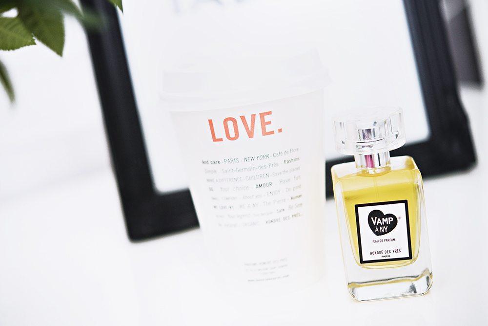 Ekologisk parfym i take away-mugg