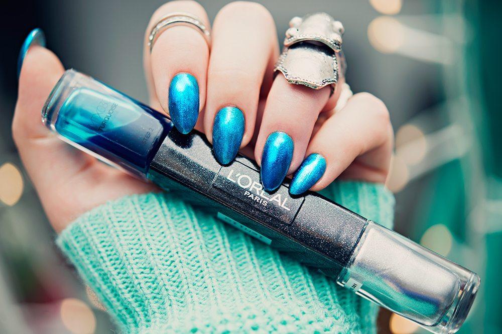 L'Oréal Paris Infallible Metallix Turquoise