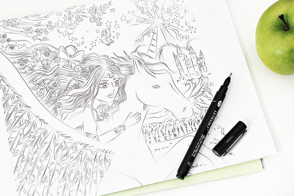 Illustration: The Pegacorn & Elf