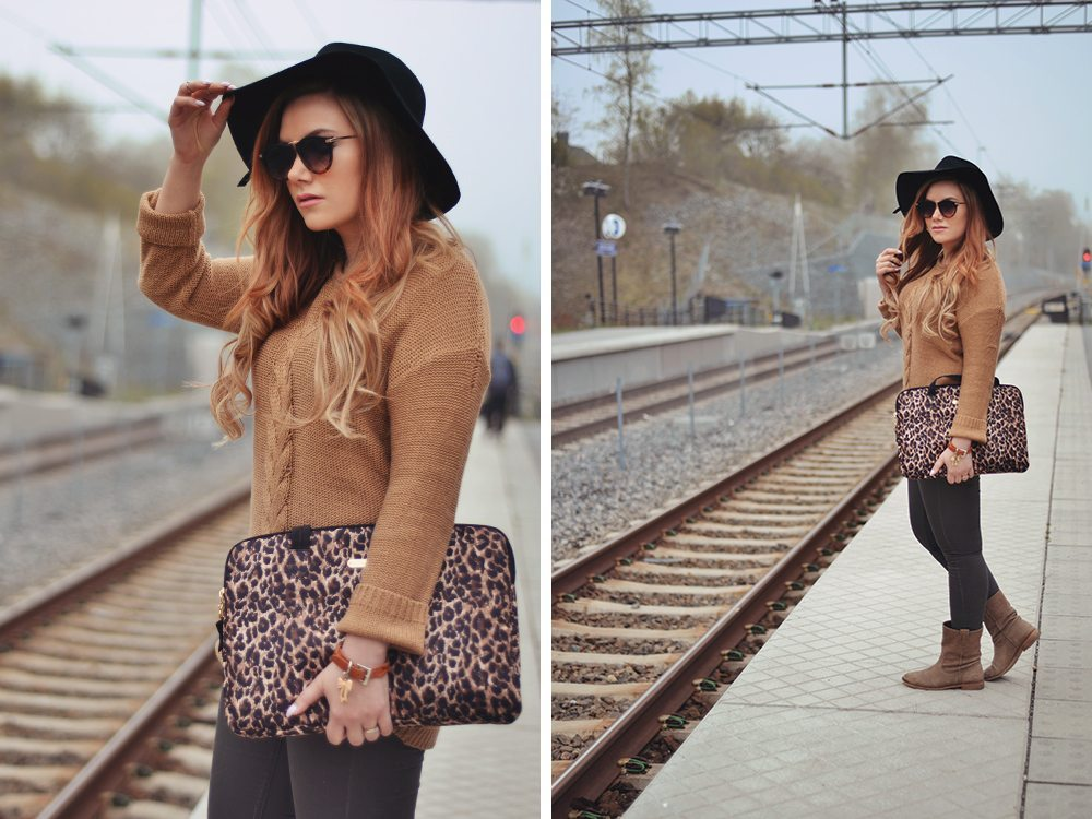 Beige Leopard Outfit