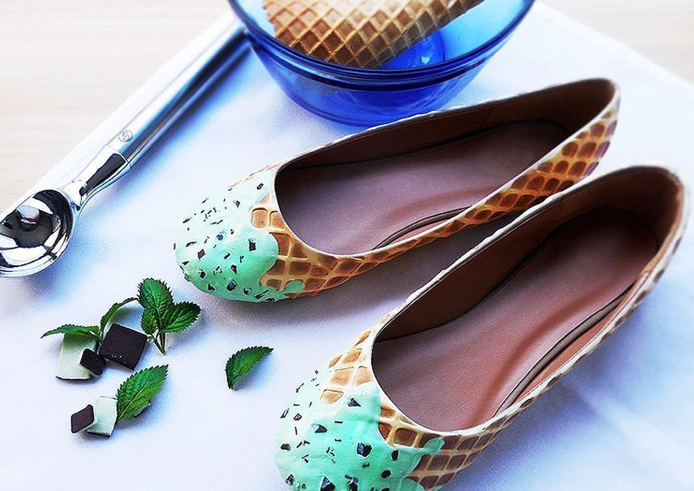 Mint Ice Cream Flats