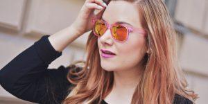 Pink & orange flash lenses