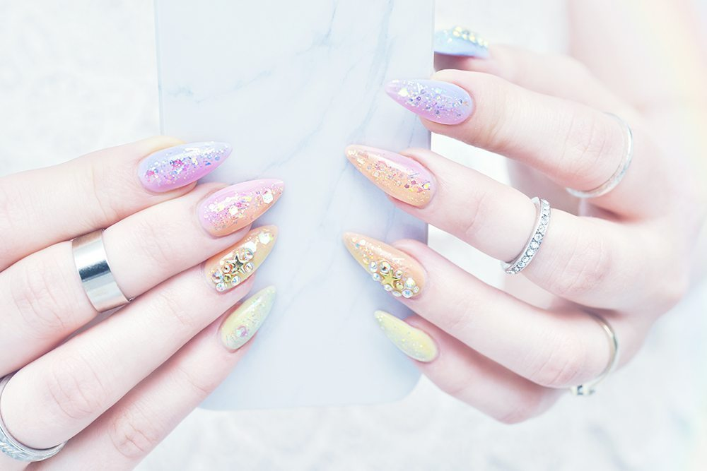 Stiletto Mermaid Nails
