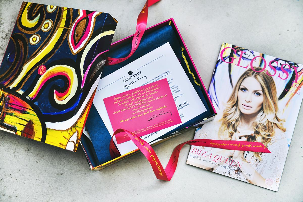 Glossybox by Carolina Gynning