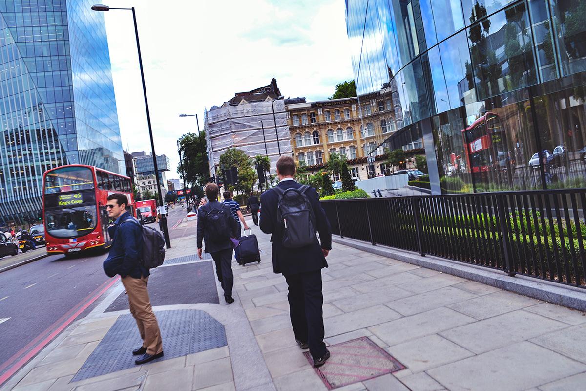 SPOTTED: Ryggsäckar i London